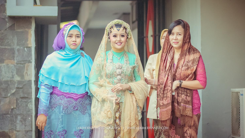 Foto persiapan akad nikah