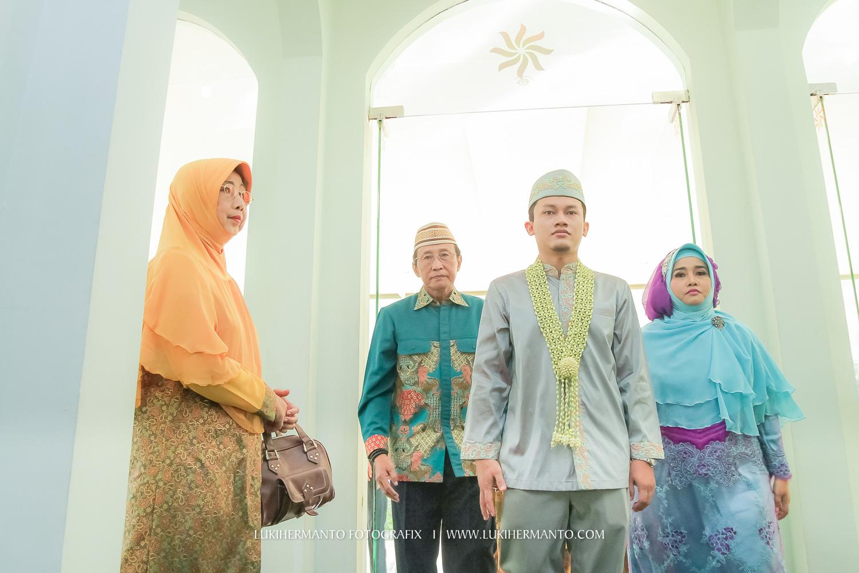 foto akad nikah di masjid