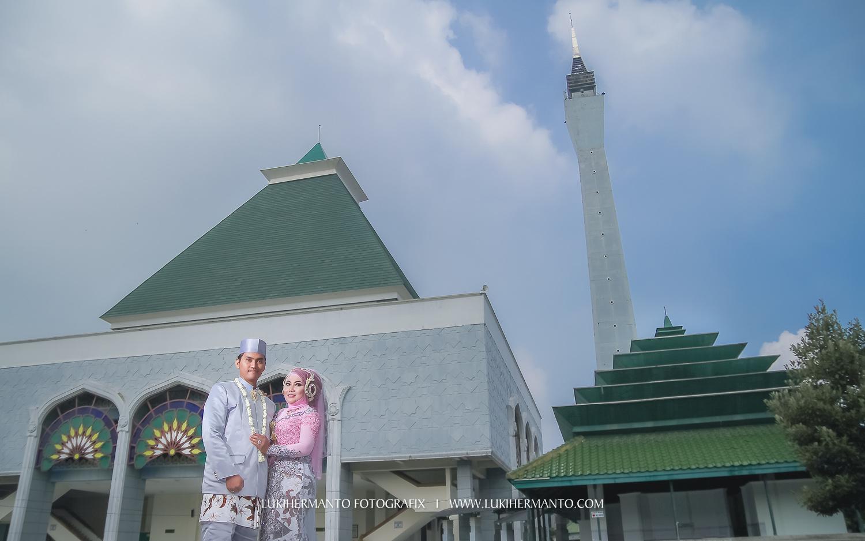 jasa foto akad nikah di masjid agung
